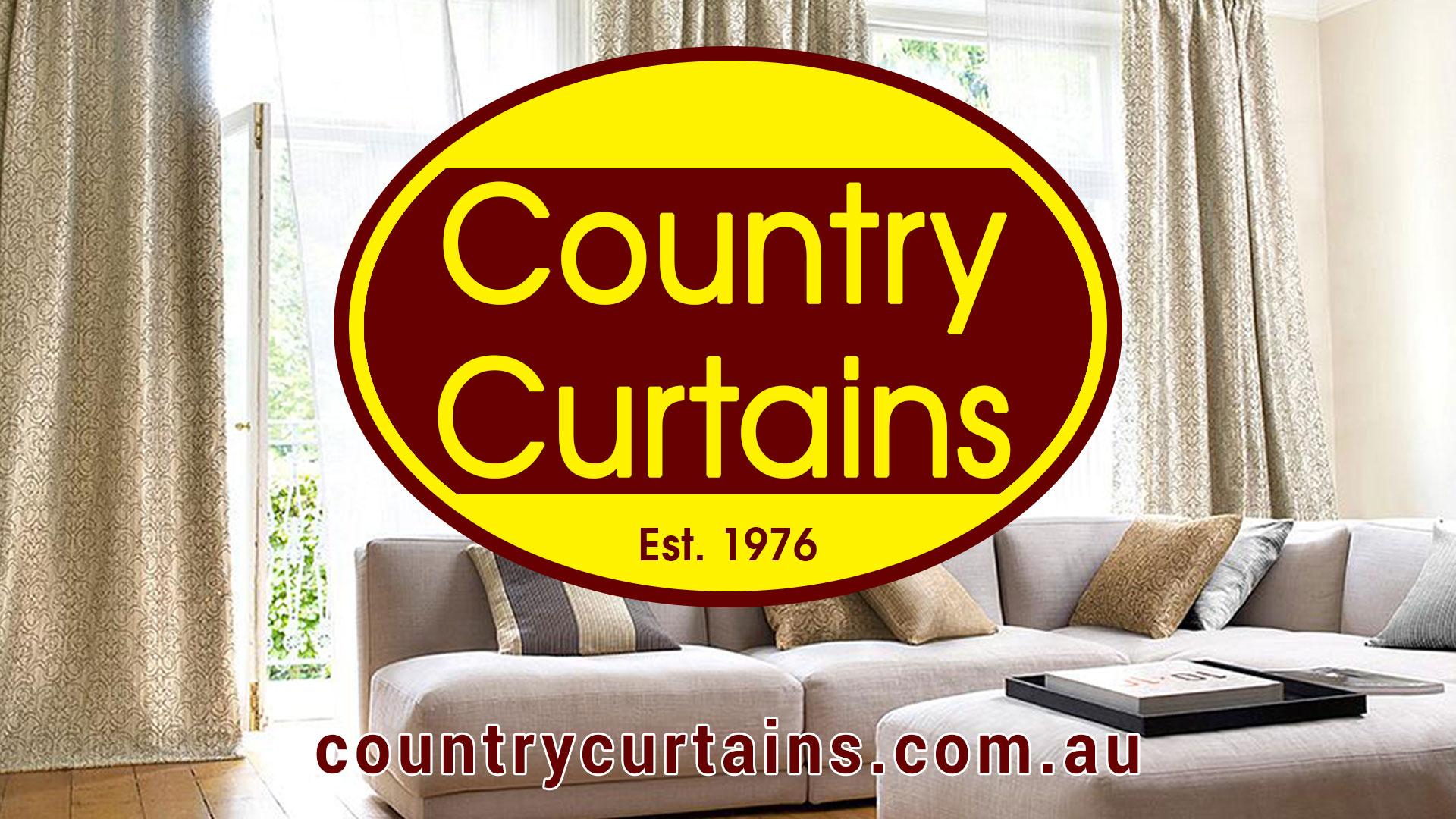 Country curtains logo - Country Curtains Bairnsdale Curtains Blinds Awnings For East Gippsland