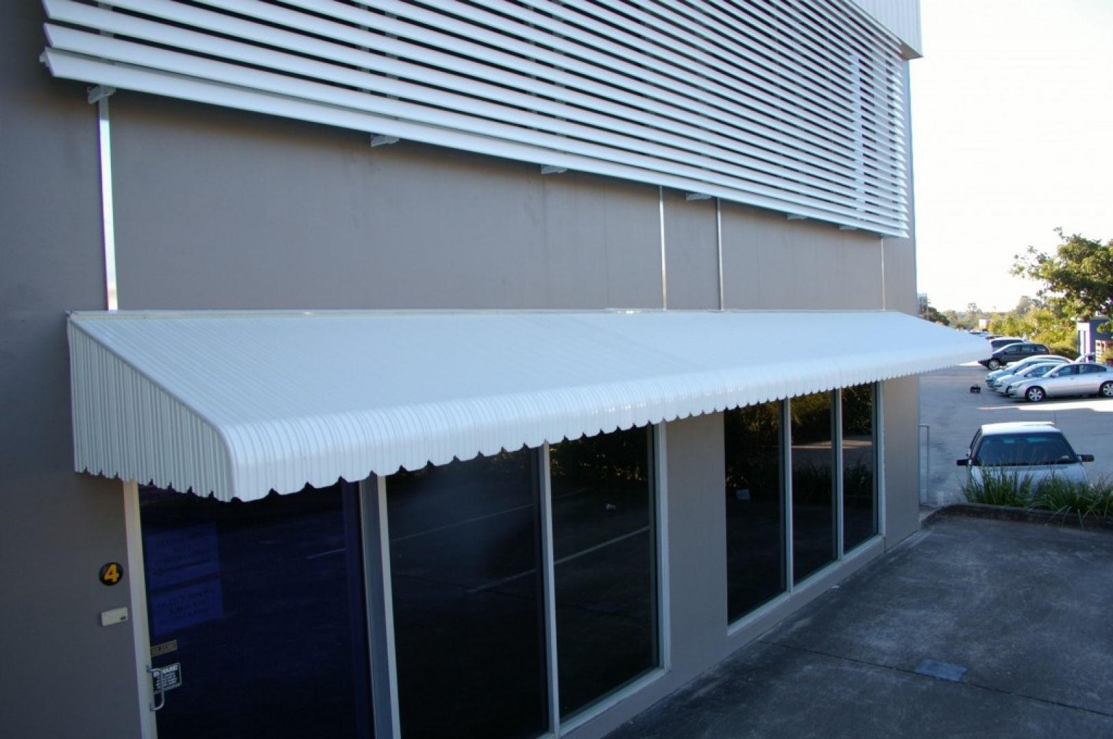 Claredale Aluminium Hood For Window Deck Balcony Shop Front