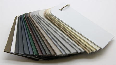 Colours available for Security Doors and Windows