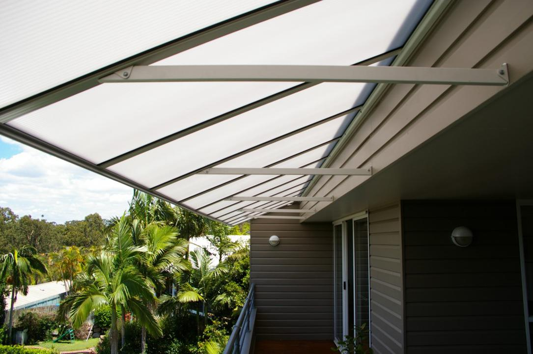 Sunorama Polycarbonate Patio Awnings, the stylish alternative