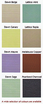 Vertical Blind Fabric Colours