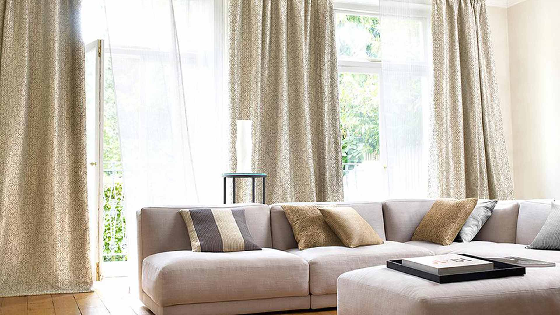 Zeppel Tussah Curtains